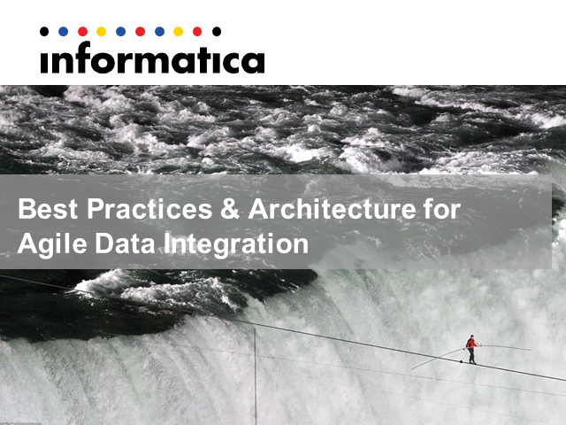 Architecting for Agile Data Integration