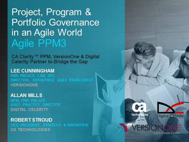 Project, Program & Portfolio Governance in an Agile World