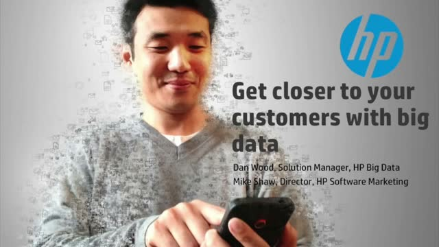 Get Closer to Customers with Big Data