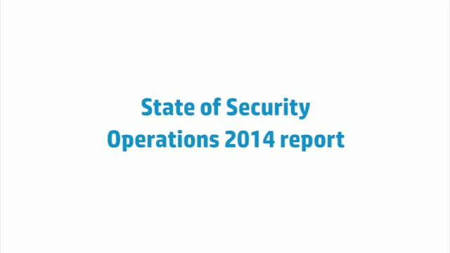State of Security Operations 2014 Report