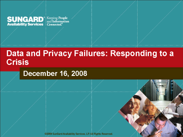 Data and Privacy Failures – Responding to a Crisis