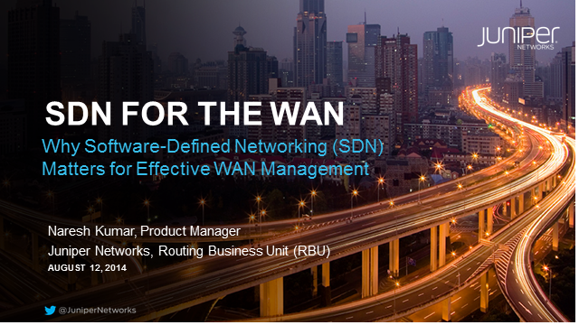 Why Software-Defined Networking (SDN) Matters for Effective WAN Management
