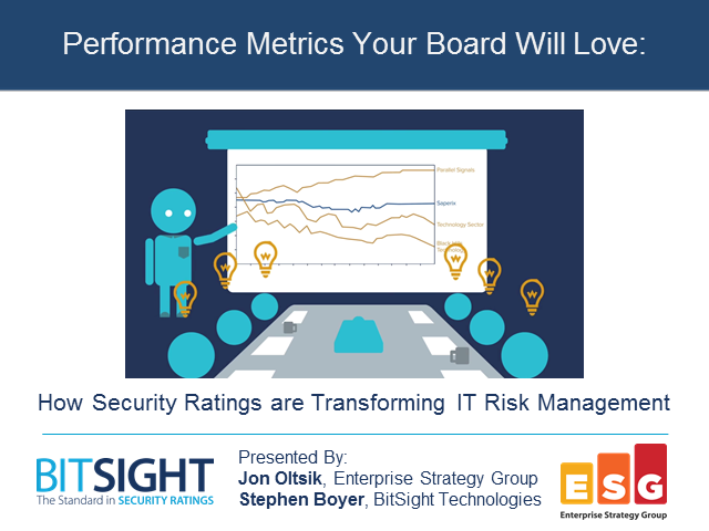 Transforming IT Risk Management With Security Ratings