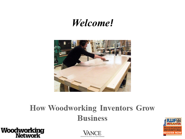 How Woodworking Inventors Grow Business