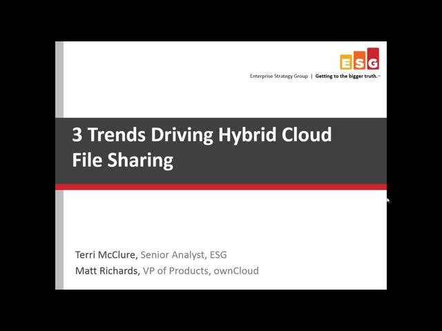 3 Trends Driving Hybrid Cloud File Sharing