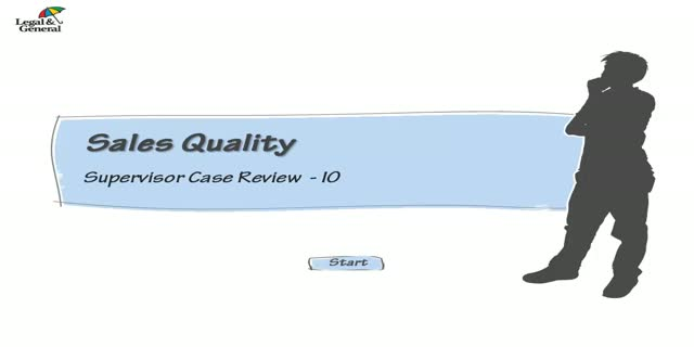 Intelligent Office: Sales Quality - Supervisor Case Review