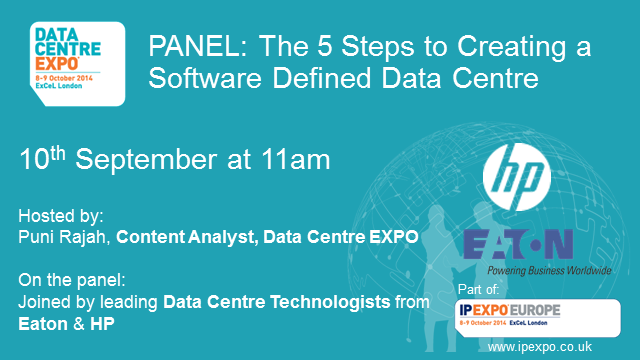 Panel: The 5 Steps to Creating a Software Defined Data Centre