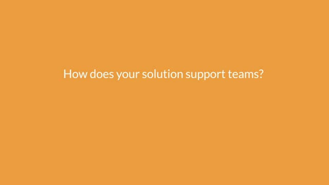 How does your cloud phone solution support teams?