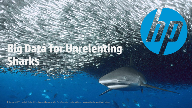 Big Data for Unrelenting Sharks
