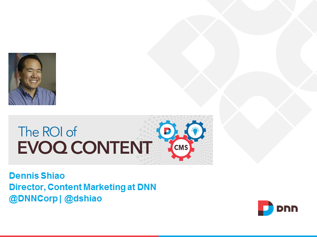The ROI of Evoq Content