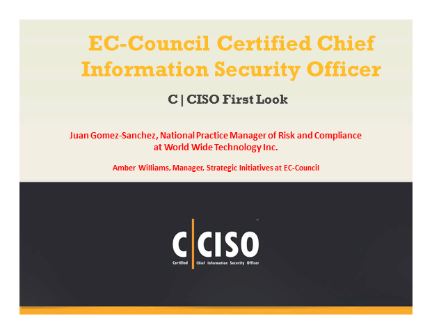 Certified CISO First Look