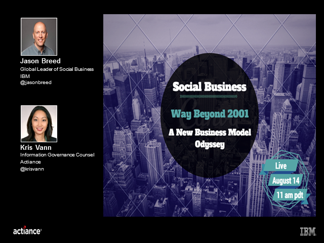 Social Business - Way Beyond 2001: A New Business Model Odyssey