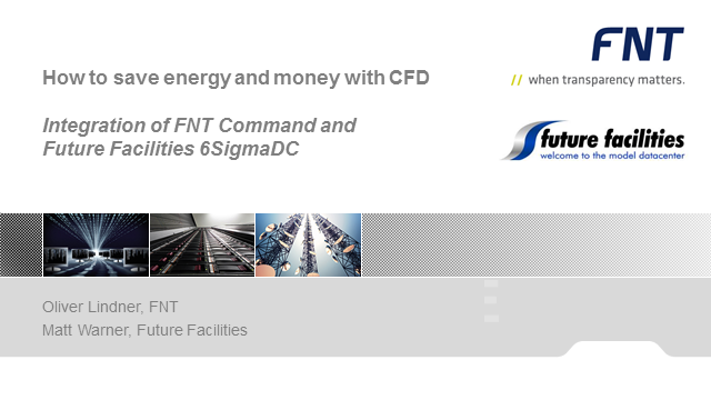 How to save energy and money with CFD in a data center