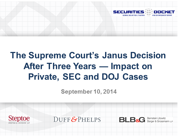 The Supreme Court's Janus Decision After Three Years: Impact and Progeny