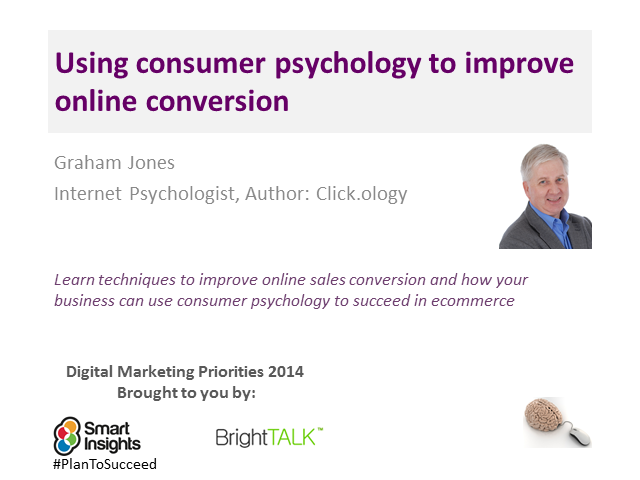 Using consumer psychology to improve online conversion