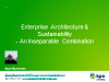 Enterprise Architecture and Sustainability - An Inseparable Combination