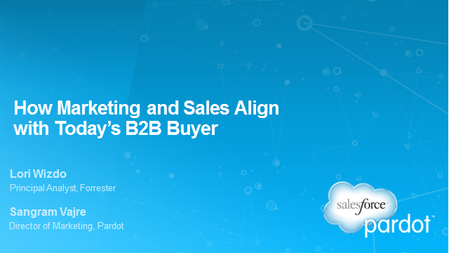 How Marketing and Sales Align with Today's B2B Buyer