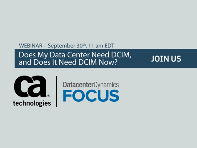 Does my Data Center Need DCIM and Does it Need DCIM Now?