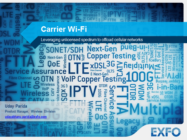 Wi-Fi: Leveraging unlicensed spectrum to offload cellular networks