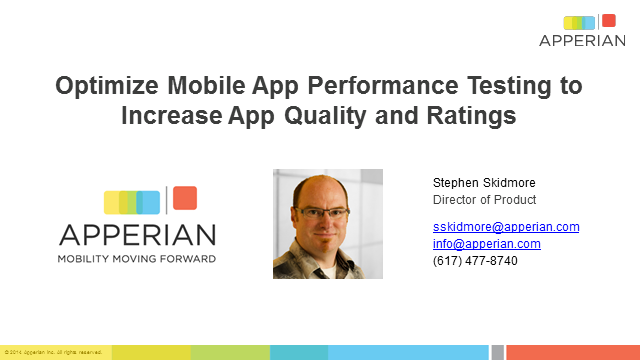 How to Optimize Mobile App Testing to increase App Quality & Ratings