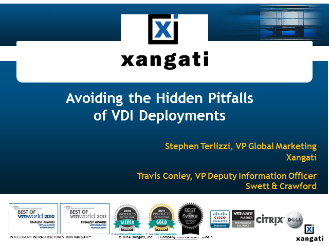 The Hidden Pitfalls of VDI Deployments