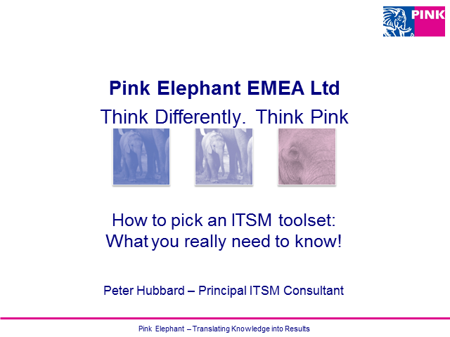How to pick an ITSM toolset: What you really need to know