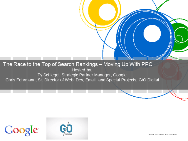 The Race to the Top of Search Rankings - Moving Up with PPC