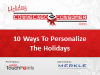 10 Ways To Personalize The Holidays