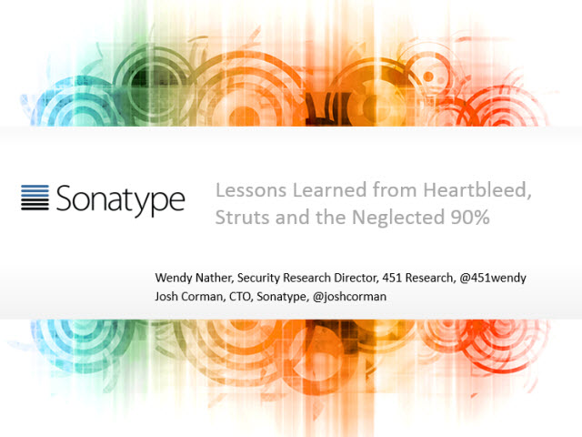 Lessons Learned from Heartbleed, Struts and the Neglected 90%