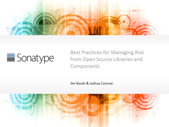 FS-ISAC's New Controls for Managing Risk from Open Source Libraries & Components