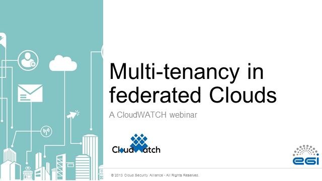 Multi-tenancy in Federated Clouds