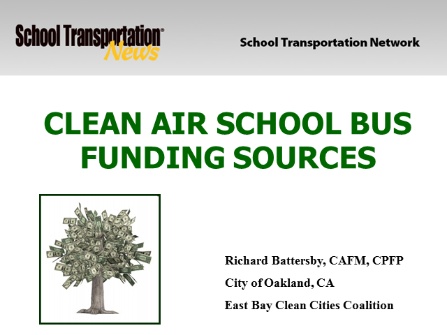 Clean Air Vehicle Funding Sources