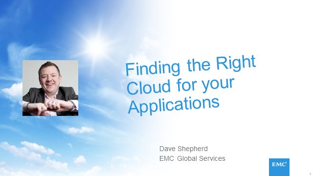 Finding the Right Cloud for Your Applications