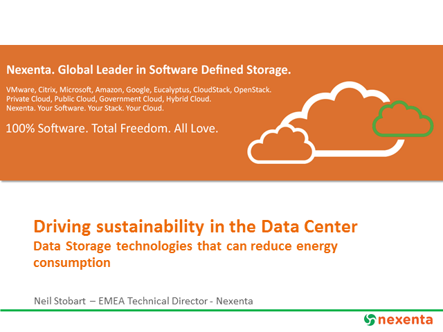 Data Center Convergence: Where do we start with sustainability?