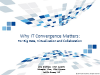 Why IT Convergence Matters: Big Data, Virtualization and Collaboration
