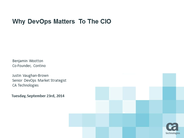 What DevOps Means for the CIO