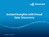 Instant Insights with Visual Data Discovery