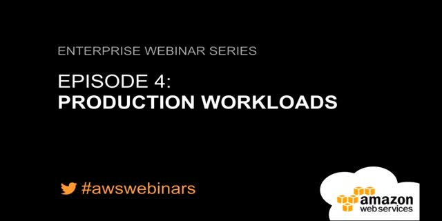 Série de Webinaires Entreprise - Episode 4: Applications de production