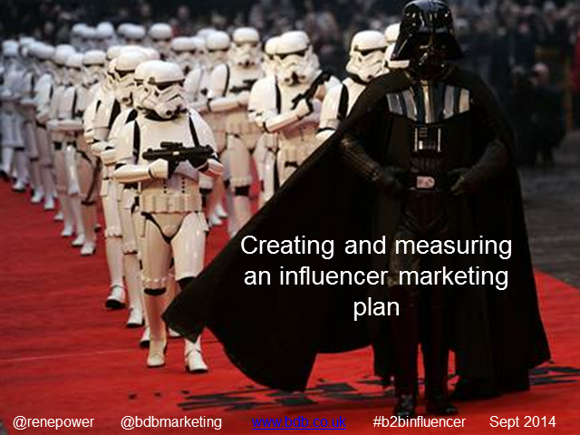 Creating a buzz through others - influencer marketing in action