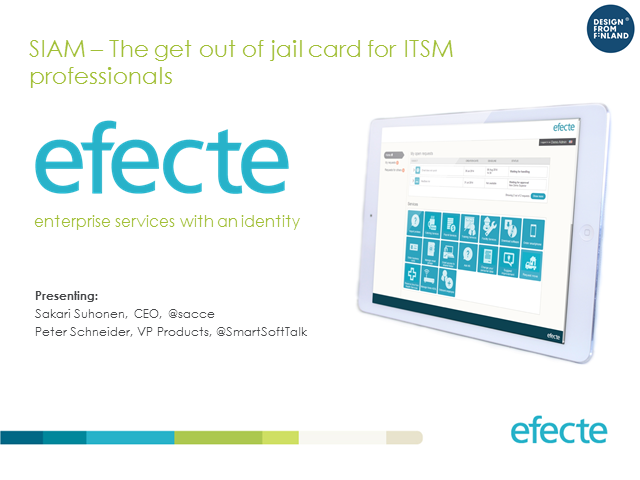 SIAM - The Get out of Jail Card for ITSM Professionals
