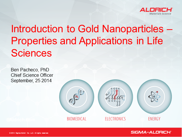 Introduction to Gold Nanoparticles - Properties and Applications in Life Science