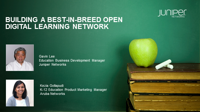 Building a Best in Breed Open Digital Learning Network