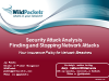 Security Attack Analysis - Finding and Stopping Network Attacks