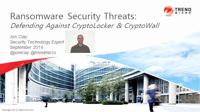 Ransomware Security Threats: Defending Against CryptoLocker & CryptoWall