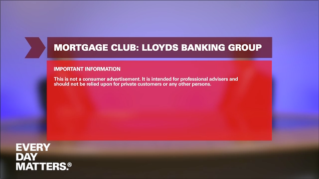 Mortgage Club: Lloyds Banking Group