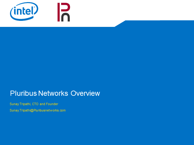 Intel Network Builders: Network Benefits with Putting Hypervisor on a Switch