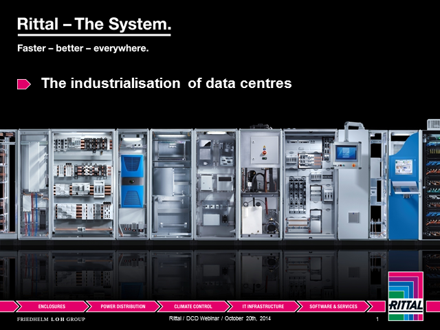 The Industrialisation of Data Centers