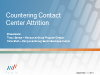 Countering Contact Center Attrition
