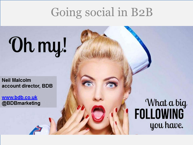 Getting the best out of B2B social media