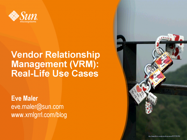 Vendor Relationship Management – Real life use cases